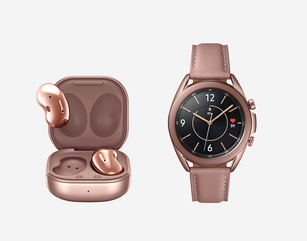 Galaxy Buds Live und Galaxy Watch3